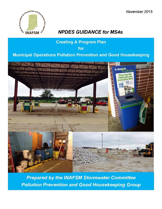Cover photo of NPDES Guidance Booklet